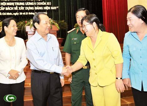 Bí thư Thành ủy Lê Thanh Hải: Một số vấn đề cấp bách về xây dựng Đảng hiện nay