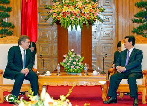 Thủ tướng Nguyễn Tấn Dũng: Tạo điều kiện cho cộng đồng người Việt ở Ukraine