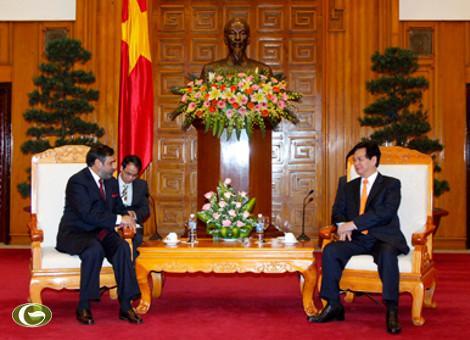 Thủ tướng Nguyễn Tấn Dũng: Tạo thuận lợi để hàng Việt xuất khẩu sang Ấn Độ