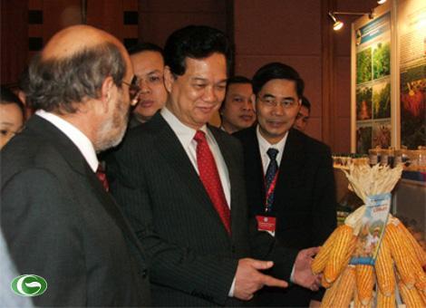 Thủ tướng Nguyễn Tấn Dũng: Việt Nam góp phần bảo đảm an ninh lương thực thế giới