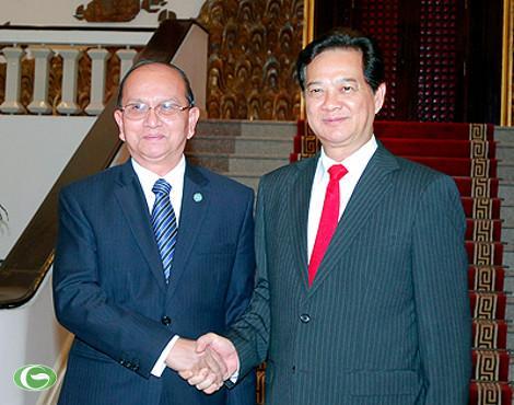 Thủ tướng Nguyễn Tấn Dũng: Việt Nam ủng hộ Myanmar