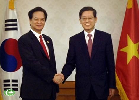 Thủ tướng Nguyễn Tấn Dũng dự Hội nghị Thượng đỉnh An ninh hạt nhân tại Hàn Quốc