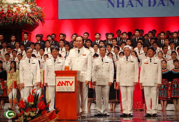 Bộ trưởng Trần Đại Quang ấn nút phát sóng ANTV