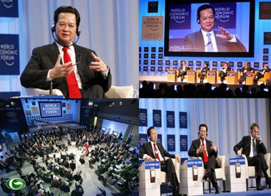 Thủ tướng Nguyễn Tấn Dũng tại diễn đàn Kinh tế Thế giới